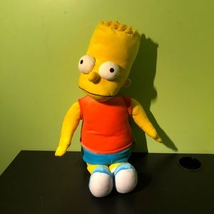 2010 The Simpsons Bart Jumbo 27 Inch Plush